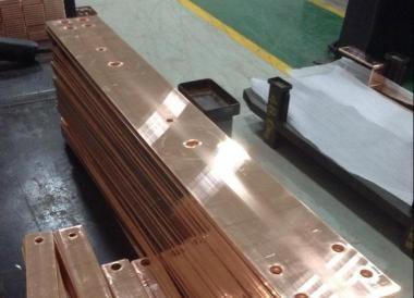 Copper bar inspection standard for power distribution cabinet