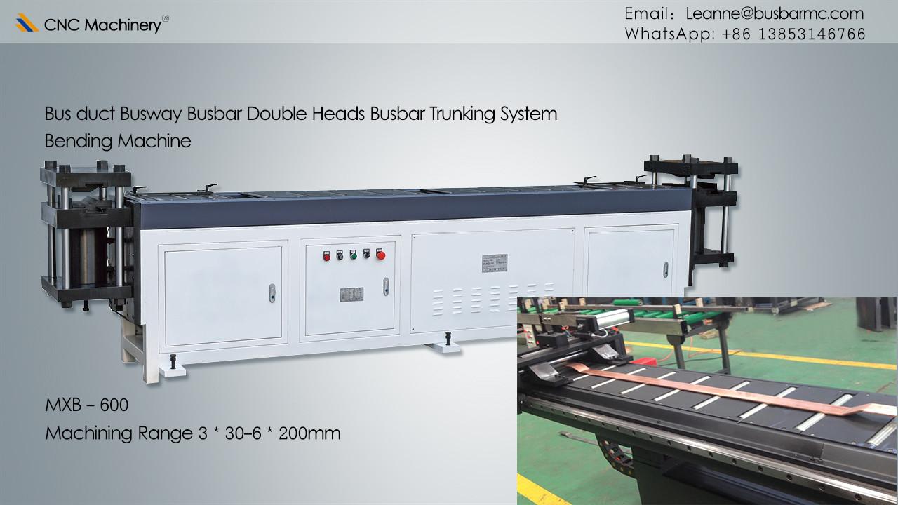 Double heads busbar bending machine busbar processing machine