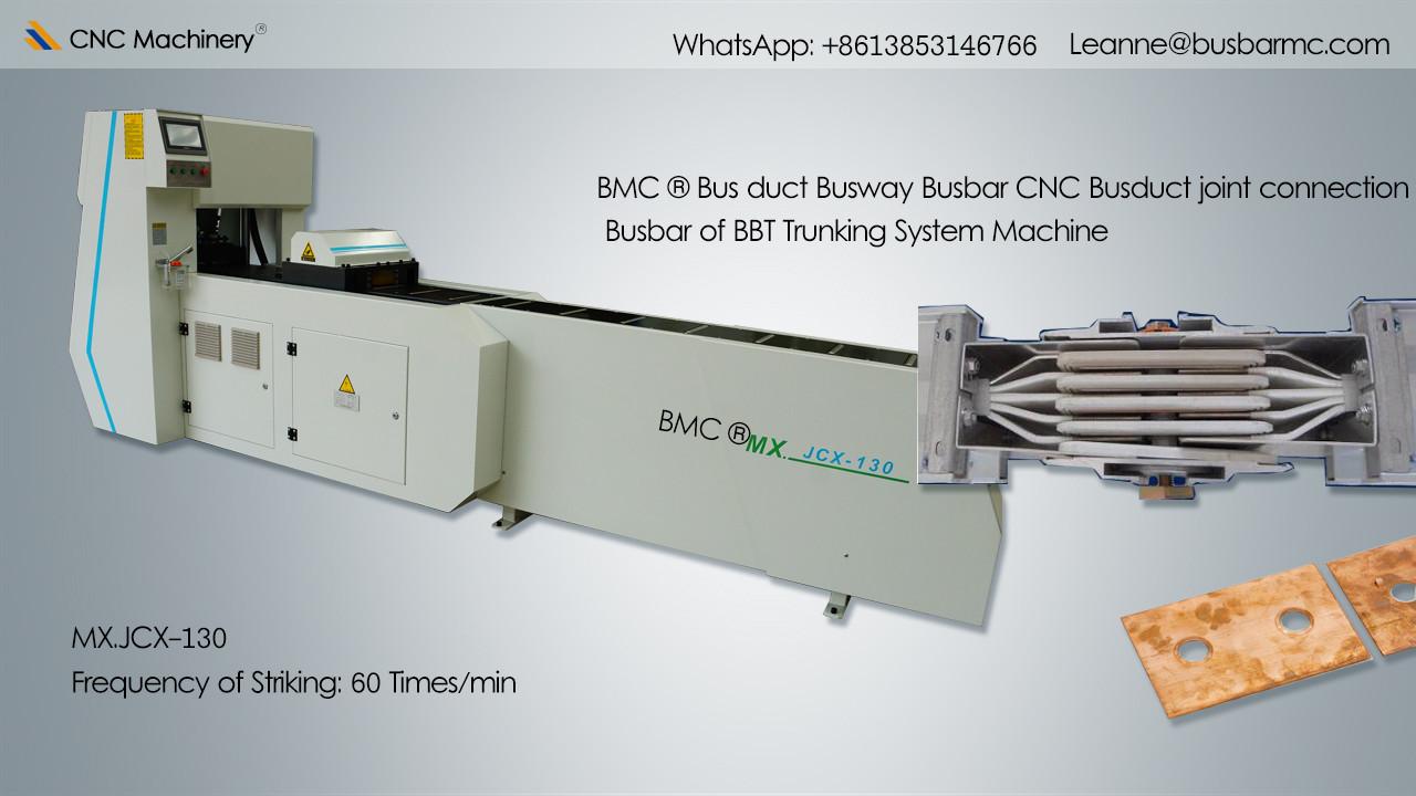 MX.JCX-130 CNC Busduct joint connection busduct processing machine