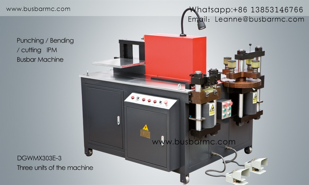 busbar punching shearing bending machine